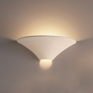 17.5 Inch Large Funnel Ceramic Wall Sconce-Indoor Lighting Fixture ...