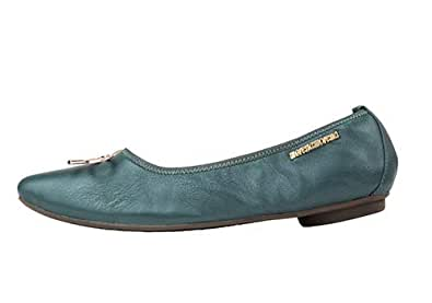 Morena Morena Green Ballerina For Women