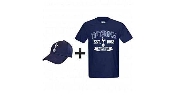 8137c0ef0ba Amazon.com   Tottenham Hotspur (Spurs) Soccer T-Shirt   Cap Gift Set    Sports   Outdoors