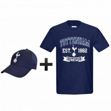 Amazon.com   Tottenham Hotspur (Spurs) Soccer T-Shirt   Cap Gift Set ... 239b361d7