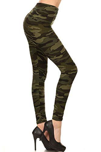 N021-3X5X Camouflage Army Print Fashion Leggings
