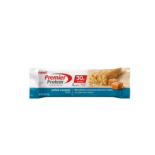 Premier Protein Salted Caramel Bars, 6 Count