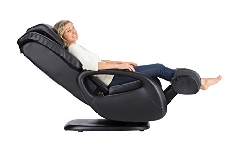 Human Touch WholeBody 7.1 Swivel-Base Full Body Relax and Massage Chair | Warm Air Heating | Easy Customizable Massage | Retractable Ottoman | Black Color Option