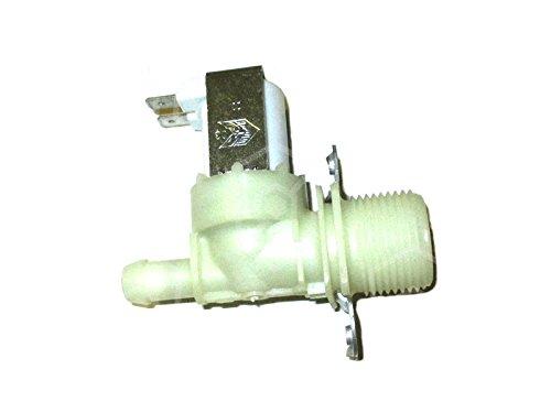 Valve magnétique sortie 2L/min 1compartiment de droit Elbi sortie Ø 11, 5mm Entrée 3/4'Température max. 90°C 220–240V AC plastique compatible avec Scotsman pour glace à piston