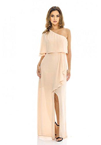 Buy 1 shoulder maxi dress - 3