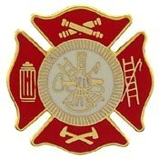 Metal Lapel Pin - Fire Department & EMT Designs - (Department Pin)