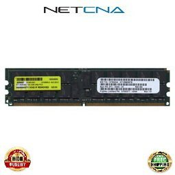 Kit Registered Memory 667 (X6321A 4GB (2x2GB) Sun Fire X4140/X4240/X4440 PC2-5300 DDR2-667 240-pin Registered ECC SDRAM DIMM Memory Kit 100% Compatible memory by NETCNA USA)