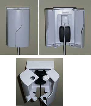 Twin Door Outlet Box