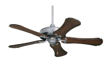 Emerson CF716PW Savannah Indoor Ceiling Fan, 52-Inch Blade Span, Pewter Finish, Dark Cherry Medium Oak Blades