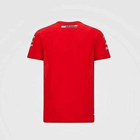 Kids Large Red 7 Formula 1 Youth 2020 Team T-Shirt Scuderia Ferrari