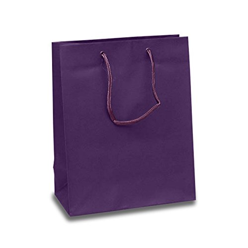 Purple Shopper (Matte Purple Euro Tote Shopper | Quantity: 25 | Width: 16