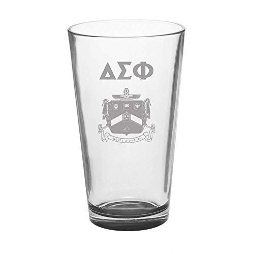 (Greekgear Delta Sigma Phi Mixing Glass Transparent)