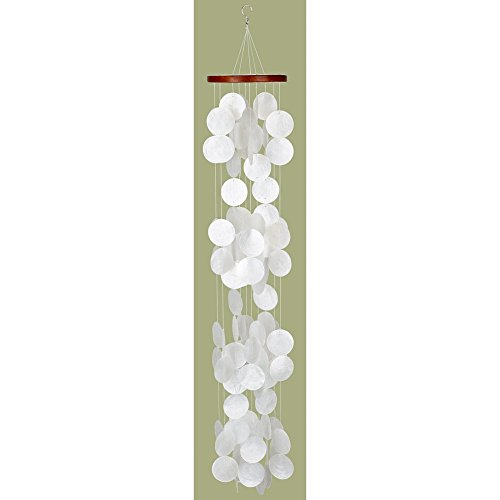 Woodstock Percussion Woodstock Capiz Waterfall Wind Chime