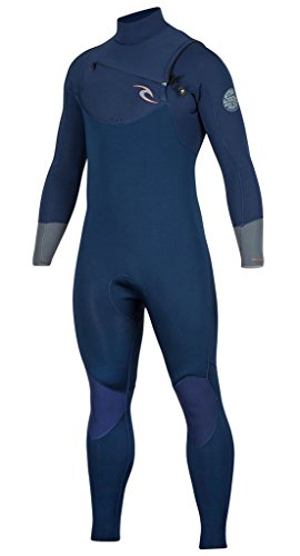 Rip Curl Dawn Patrol Chest Zip 4/3 Wetsuit, Black, Small by Rip Curl (Image #3)