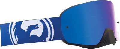 Dragon Alliance NFX Goggles , Distinct Name: Blue White Split/Blue Steel Lens, Primary Color: Blue, Gender: Mens/Unisex 722-1512 by Dragon