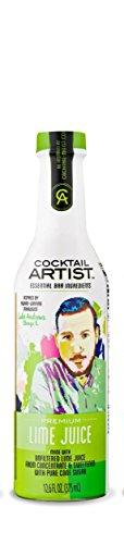 Lime Cocktail (Cocktail Artist Premium Lime Juice 12.6 Fl oz. (375ml))