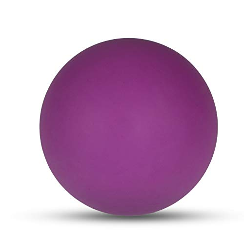 KissDate Massage Lacrosse Ball for Myofascial Release, Foot, Back, Trigger Point Treatment Ball, Muscle Knot, Yoga Therapy (Purple)