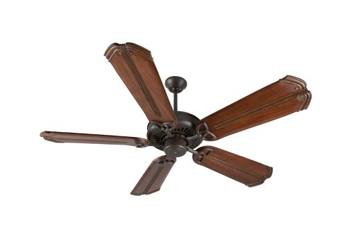 Craftmade Aged Bronze American Tradition Ceiling Fan with Five 56