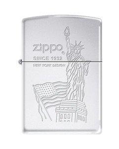Zippo Statue (Zippo 23491 Flag & Statue of Liberty)