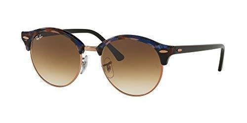 Sol Ray unisex 4246 RB Gafas Ban CLUBROUND BLUE de HAVANA SHADED BROWN 11WwHnTqt
