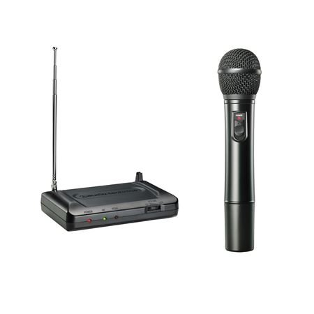 Audio-Technica ATR7200 Wireless Handheld System - (T2: 169.505) (Vhf Series Handheld Wireless Microphone)