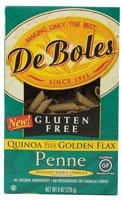 DeBoles Penne Pasta Quinoa plus Golden Flax -- 8 oz