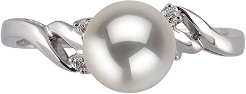 PearlsOnly - Andrea White 6-7mm AAA Quality Japanese Akoya 14K White Gold Cultured Pearl Ring - Size-6 by PearlsOnly (Image #2)