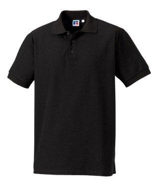 Russell Athletic - Polo - para Hombre Negro Medium: Amazon.es ...