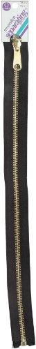 Coats: Thread & Zippers F5216-BLK Reversible Separating Metal Zipper, 16
