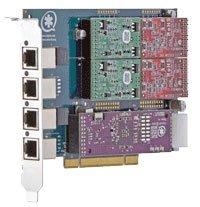 Digium TDM410P Base Card PCI 2.2 Asterisk, Office Central