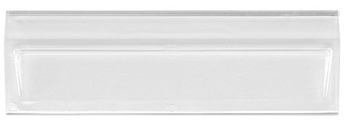 Quantum Storage Systems WMS531 Clear Plastic Window Front Designed for Magnum Bins, 11'' x 3'' x 1'' (Case of 6)