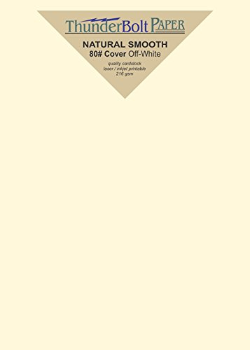 100 Brown Kraft Fiber 80# Cover Paper Sheets - 5 X 7 Inches Photo|Card|Frame Size - Rich Earthy Color with Natural Fibers - 80lb/pound Cardstock - Smooth Finish