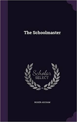 THE SCHOOLMASTER ASCHAM EBOOK DOWNLOAD