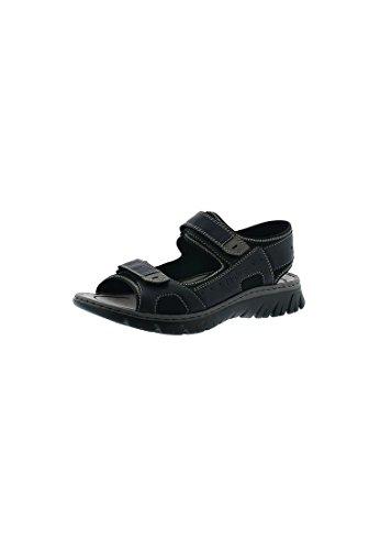 Rieker Heren-sandalette Blau 610239-5 Blauw