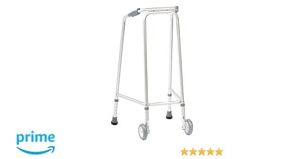 NRS Healthcare Ultra andador (con ruedas) Altura Ajustable