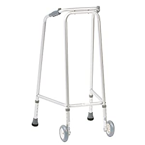 NRS Ultra Narrow Walking Frame (Wheeled) N73223 Adjustable Height - Medium (Eligible for VAT relief in the UK) 31