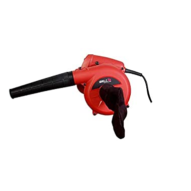 iBELL Air Blower 600W, Copper Rotor, RPM 14000, Blow Rate 3.3M/Min with Vacuum dust Collecting Bag, Professional Quality,Variable Speed Control 4