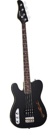 Schecter 2655 Baron-H Left Handed 4-String Bass Guitar (Vintage Black)