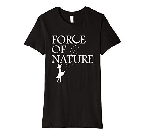 Halloween Witchy Woman Force of Nature Moon and Stars Shirt