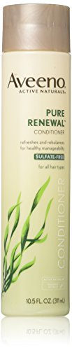 Aveeno Conditioner Pure Renewal (Sulfate-Free) 10.5 Ounce (310ml) (3 Pack)