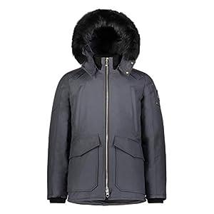 Moose Knuckles Mens Men's Pearson 100% Down Jacket with Fur Hood