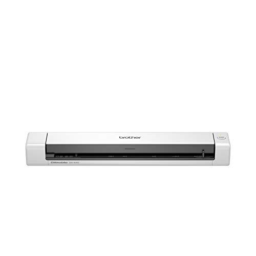 Brother DS640 - Escáner móvil (A4, alimentación USB, 15 ppm, Color, Blanco y Negro)