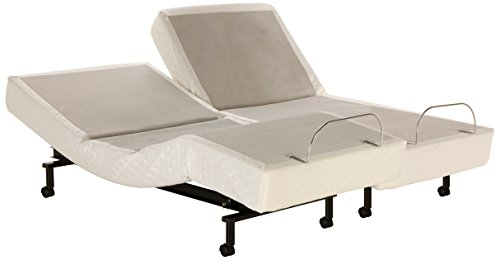 Leggett platt signature adjustable bed base split queen for Leggett and platt adjustable bed motors