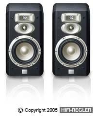 JBL L830 3-Way High Performance 6-Inch Bookshelf Loudspeaker - Black (Jbl Spot)
