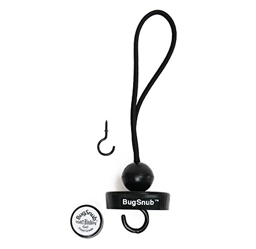 BugSnub Hummingbird Nectar Ant Guard - Moat Free, Poison Free Ant Deterrent for Feeders Up to 4 Pounds, (Skinny Hook)