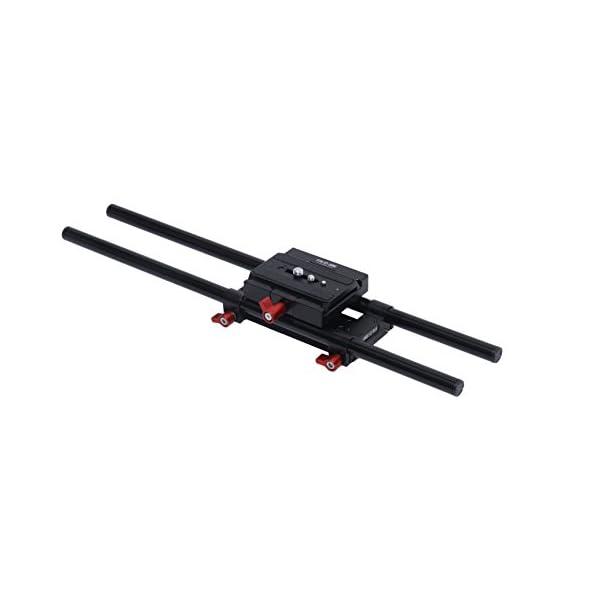 Shootvilla 15 mm Rail Rod Support system Base Plate Camera Mount for follow focus matte box Smaller size 1
