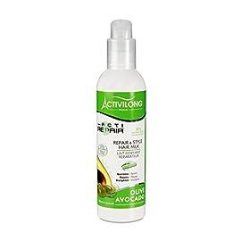 Activilong Actirepair Lait de Coiffage Réparateur aux Huiles d'Olive et Avocat Bio 240 ml