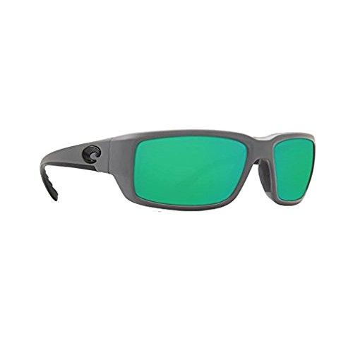 Costa Del Mar Fantail 580P Fantail, Matte Gray Green Mirror, Green - Sunglasses Costa Fantail