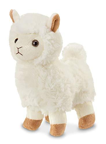 Bearington Lil' Alma Small Plush Stuffed Animal Llama, 7 -