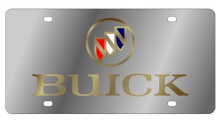 Buick License Plate (License Buick Plate)